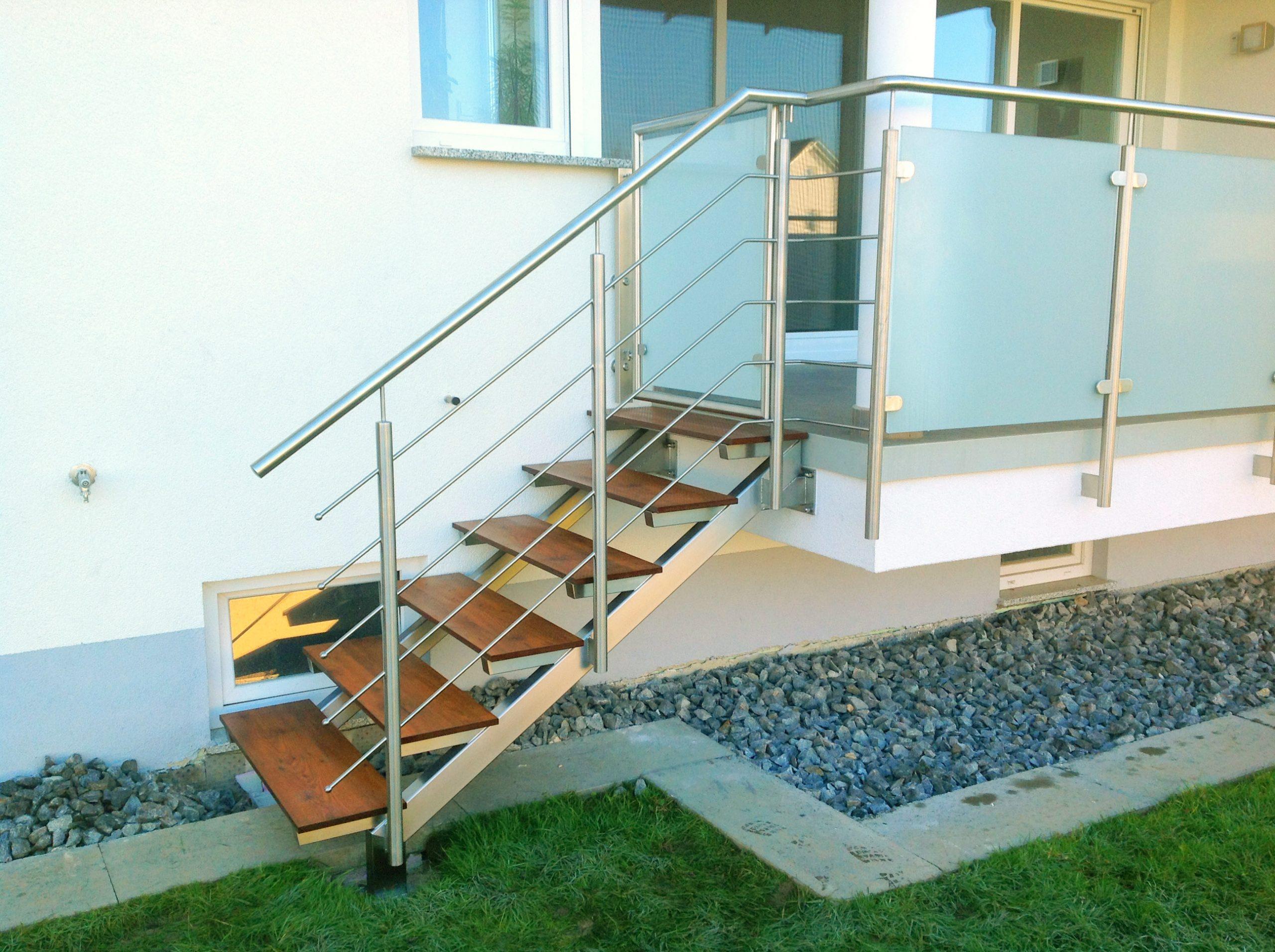 Brettschneider Edelstahl Treppe
